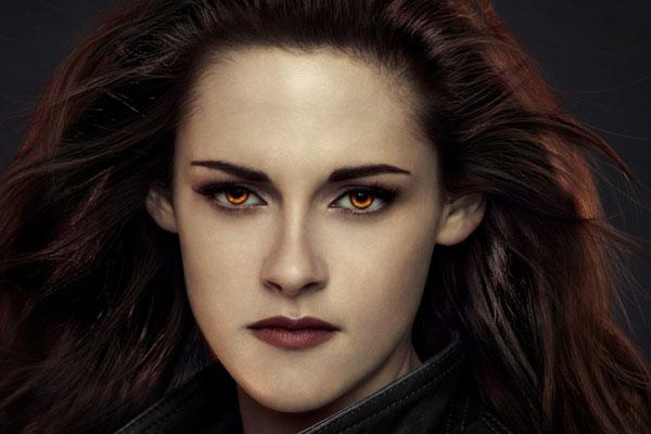 Kristen Stewart from Twilight Saga
