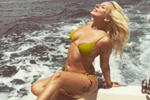 lady gaga bikini instagram