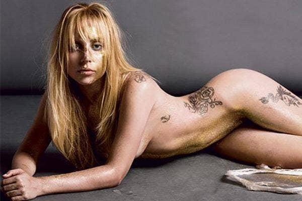 Lady Gaga nude, Lady Gaga naked, Lady Gaga V magazine