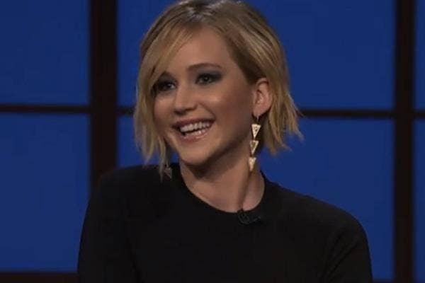 Jennifer Lawrence, Late Night, Seth Meyers, cool, celebrity, love, celeb crush, celeb love, jennifer lawrence love, jennifer lawrence funny, jennifer lawrence fans