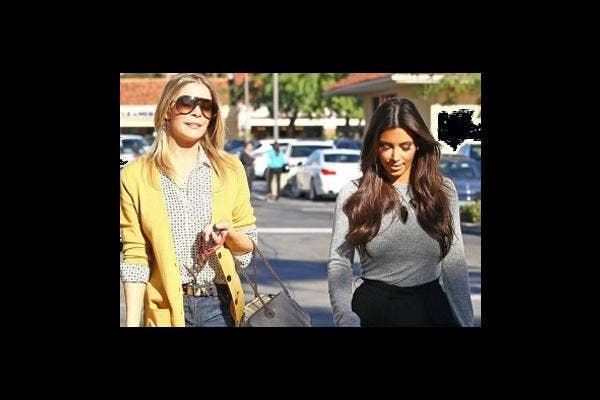 LeAnn Rimes and Kim Kardashian