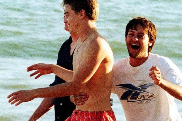 Leonardo DiCaprio and Toby McGuire