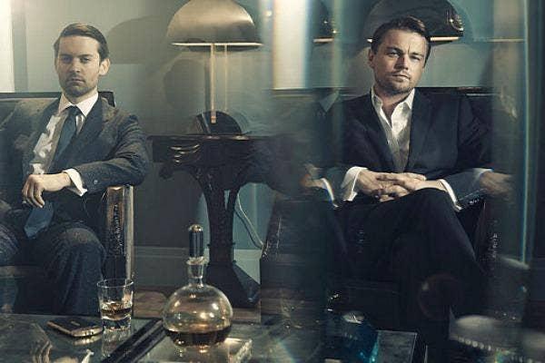 Leonardo DiCaprio and Tobey Mcguire