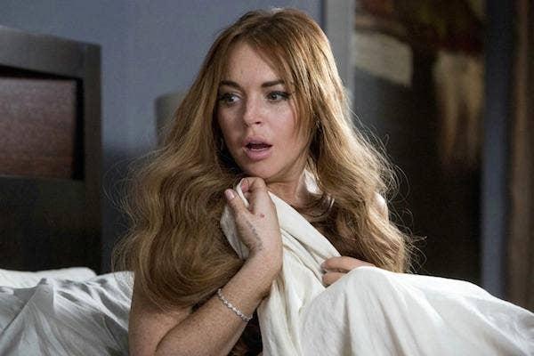 Lindsay Lohan from Scary Movie 5