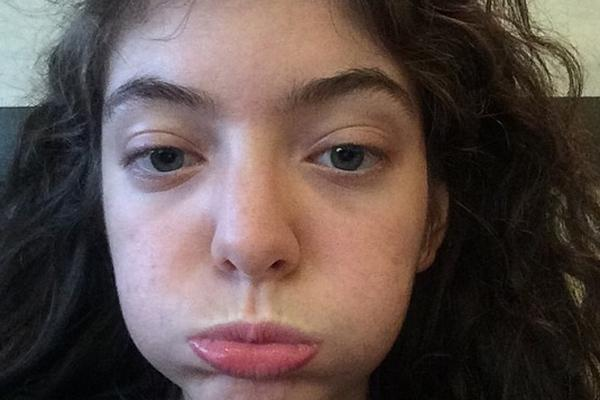 lorde face
