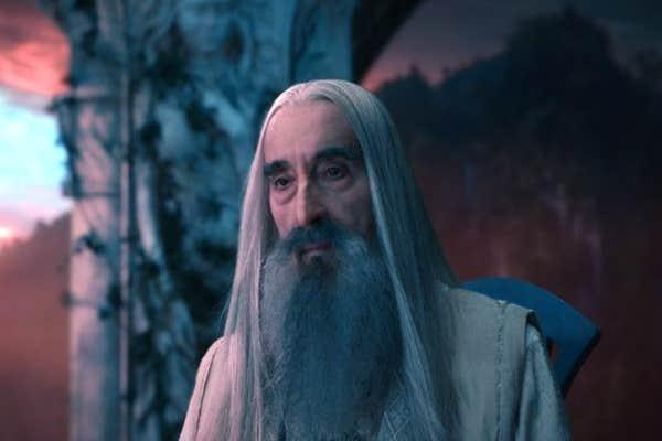 Christopher Lee met J.R.R. Tolkien.