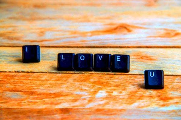 'I Love U' Keys