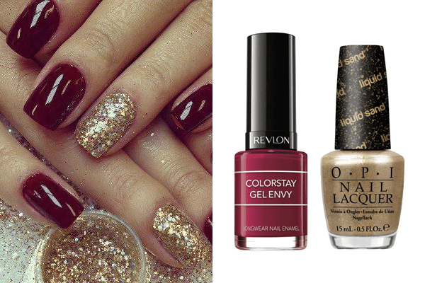 7. Pop of nail color