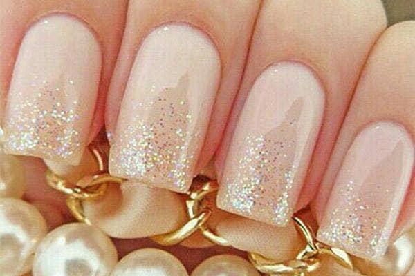 bridal party, bridesmaids, wedding, manicure, wedding manicure, wedding nails