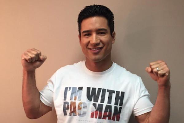 Mario Lopez from Twitter