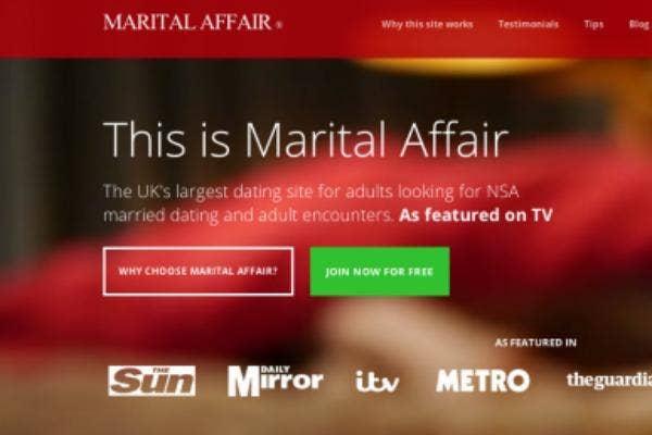 Uks most popular dating websites for extramarital affairs