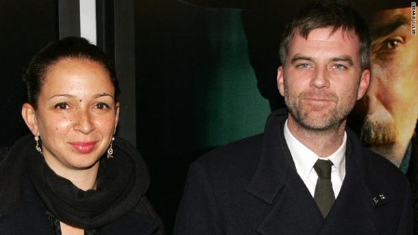 Maya Rudolph and Paul Thomas