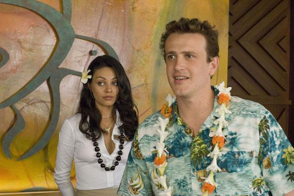 Mila Kunis and Jason Segal from Forgetting Sarah Marshall