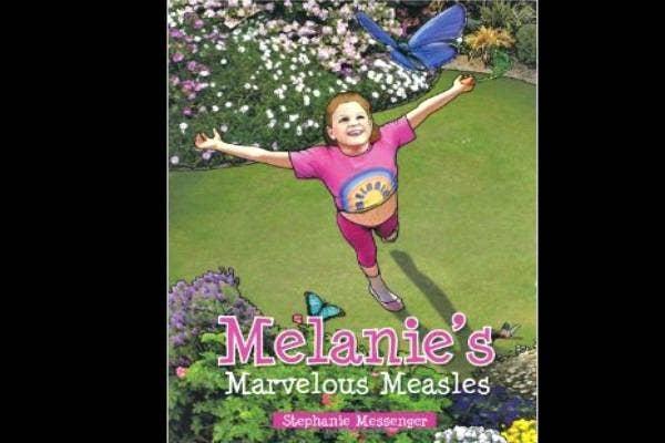 Melanie's Marvelous Measles book