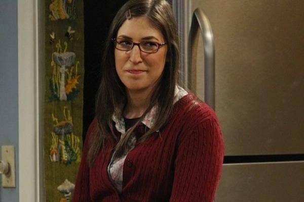 Mayim Bailik from The Big Bang Theory