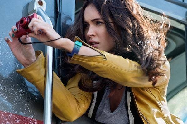 Megan Fox from Teenage Mutant Ninja Turtles