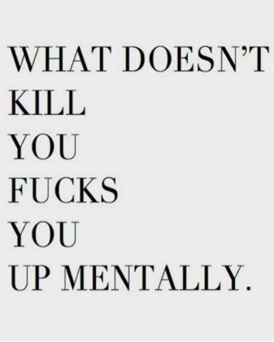 what doesn't kill you quotes