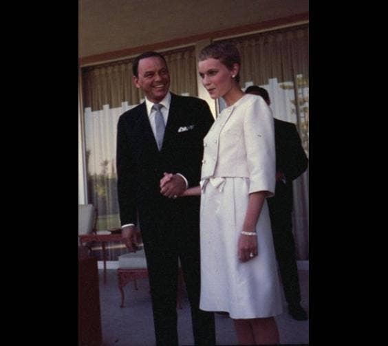 Mia Farrow's Dress