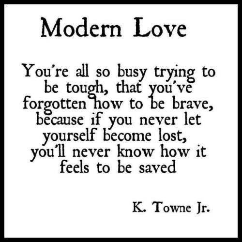 K Towne Jr, 'Modern Love'