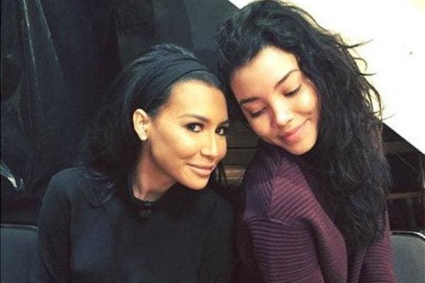 Naya Rivera and Nickayla Rivera