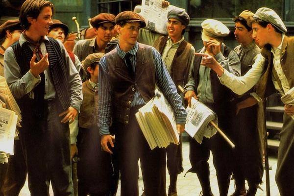 from the film Newsies