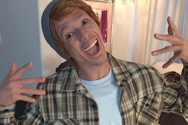 Nick Cannon in whiteface on Instagram losing virginity first time sex