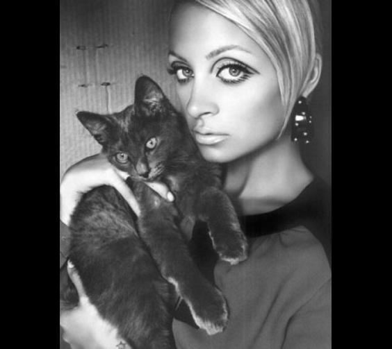 Nicole Richie & Her Cat, Gypsy Rose Lee