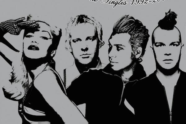 Gwen Stefani and Tony Kanal from The Singles: 1992-2003