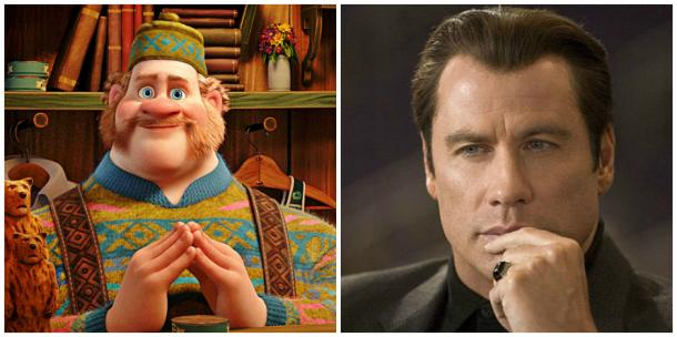Oaken of Disney's 'Frozen' and John Travolta