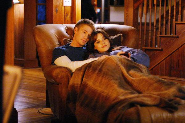 Sophia Bush and Chad Michael Murray from One Tree Hill