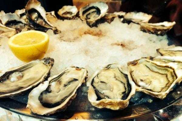 1. Oysters are high in zinc.