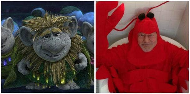 Pabbie of Disney's 'Frozen' and Sir Patrick Stewart