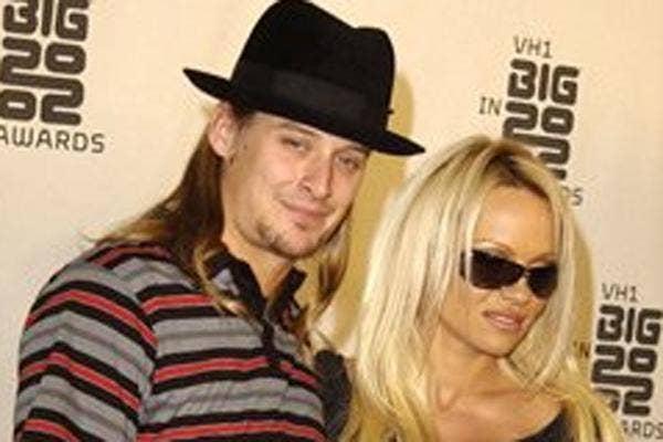 Kid Rock and Pamela Anderson