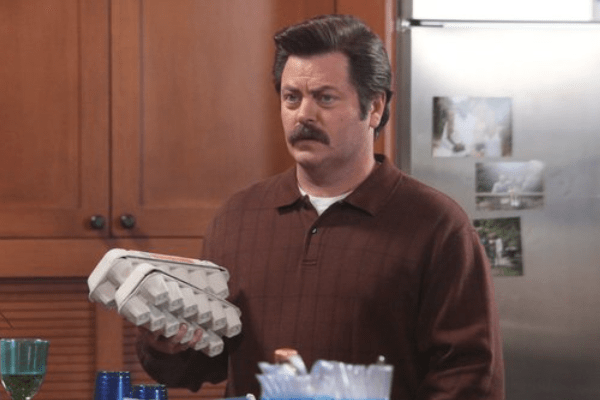 Parks and Recreation Nick Offerman Ron Swanson