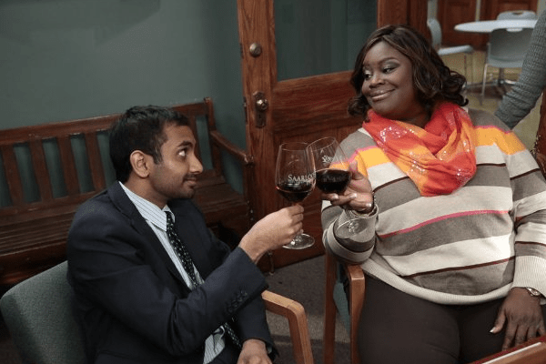 Parks and Recreation, parks and recreation treat yo self, aziz ansari, aziz ansari parks and recreation, parks and rec, nbc parks and recreation, nbc parks and rec, aziz ansari parks and rec, treat yo self, parks and rec tom, parks and recreation tom, azi