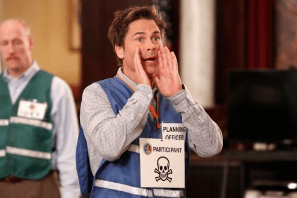 Parks and Recreation Rob Lowe Chris Traeger