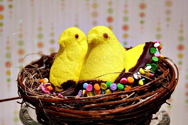 Peeps are siblings to Mike and Ike.