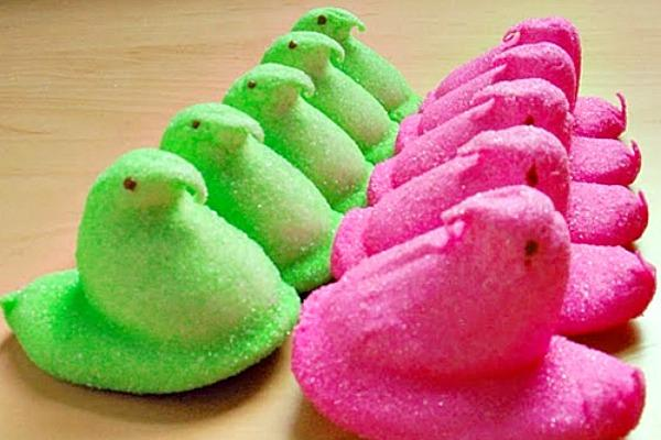 Peeps are also involved in sports.