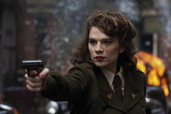 Hayley Atwell as Agent Peggy Carter in 'Captain America: The First Avenger'