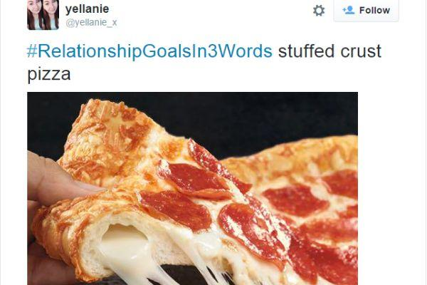 6. Stuffed Crust Pizza.