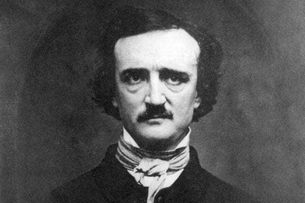 Edgar Allen Poe from Wikimedia