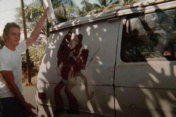 Chris Pratt scooby doo van