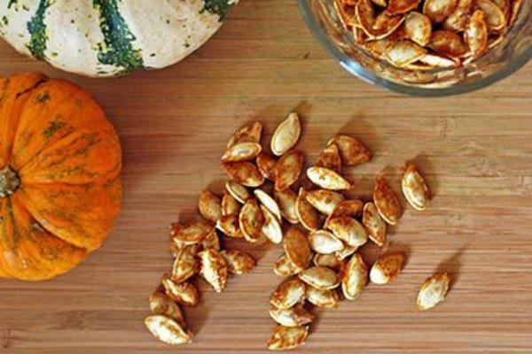 7. Pumpkin seeds are good for the prostate.