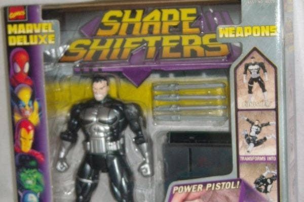 from Toy Biz transforming punisher