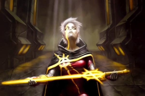 Phyla-Vell from Annihilation Conquest: Quasar 3 marvel comics lgbt superheroes super hero lgbtq gay lesbian bisexual