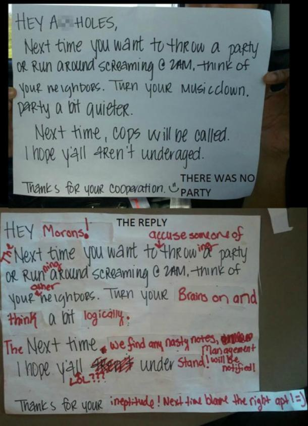 10 Passive Aggressive Notes From Neighbors Who Are SO Done
