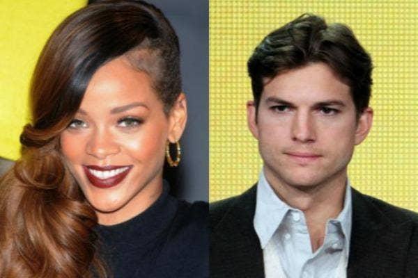 Rihanna & Ashton Kutcher