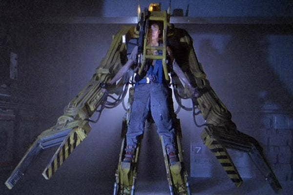 Sigourney Weaver as Ripley in 'Aliens'