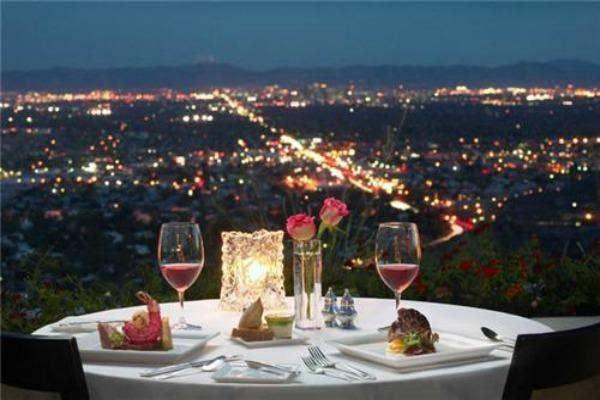 fine dinner date