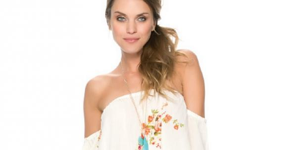 Swell Rosalie Off Shoulder Floral Top